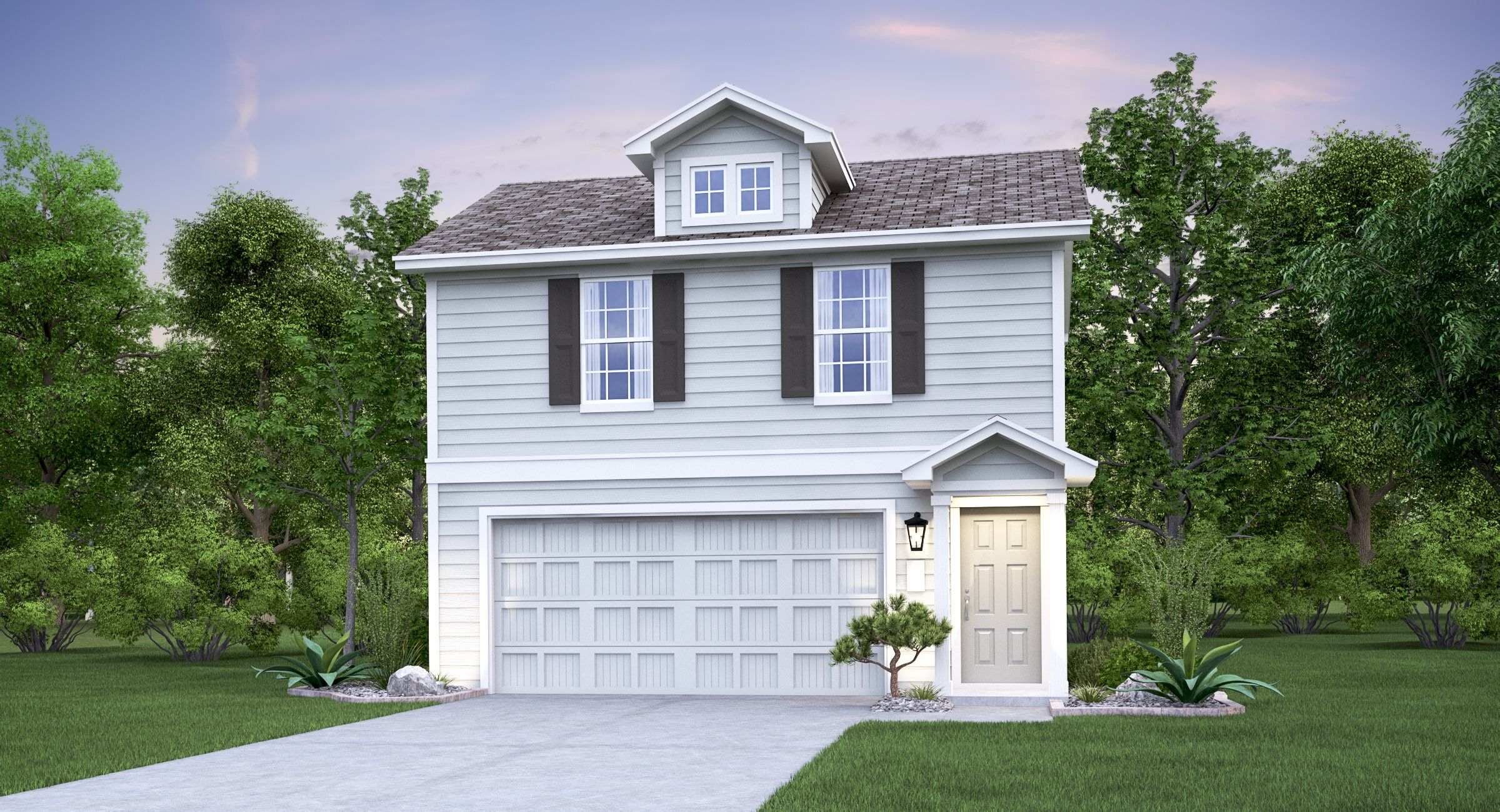 Exterior featured in the Brawn By Lennar in San Antonio, TX