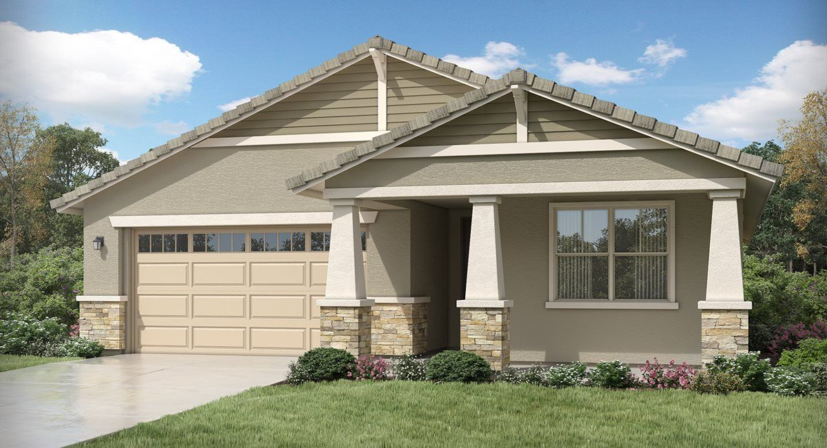 Exterior featured in the Douglas Plan 4021 By Lennar in Phoenix-Mesa, AZ