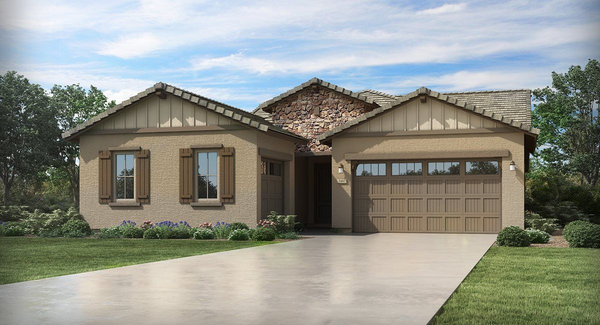 Exterior featured in the Trillium Plan 4585 By Lennar in Phoenix-Mesa, AZ
