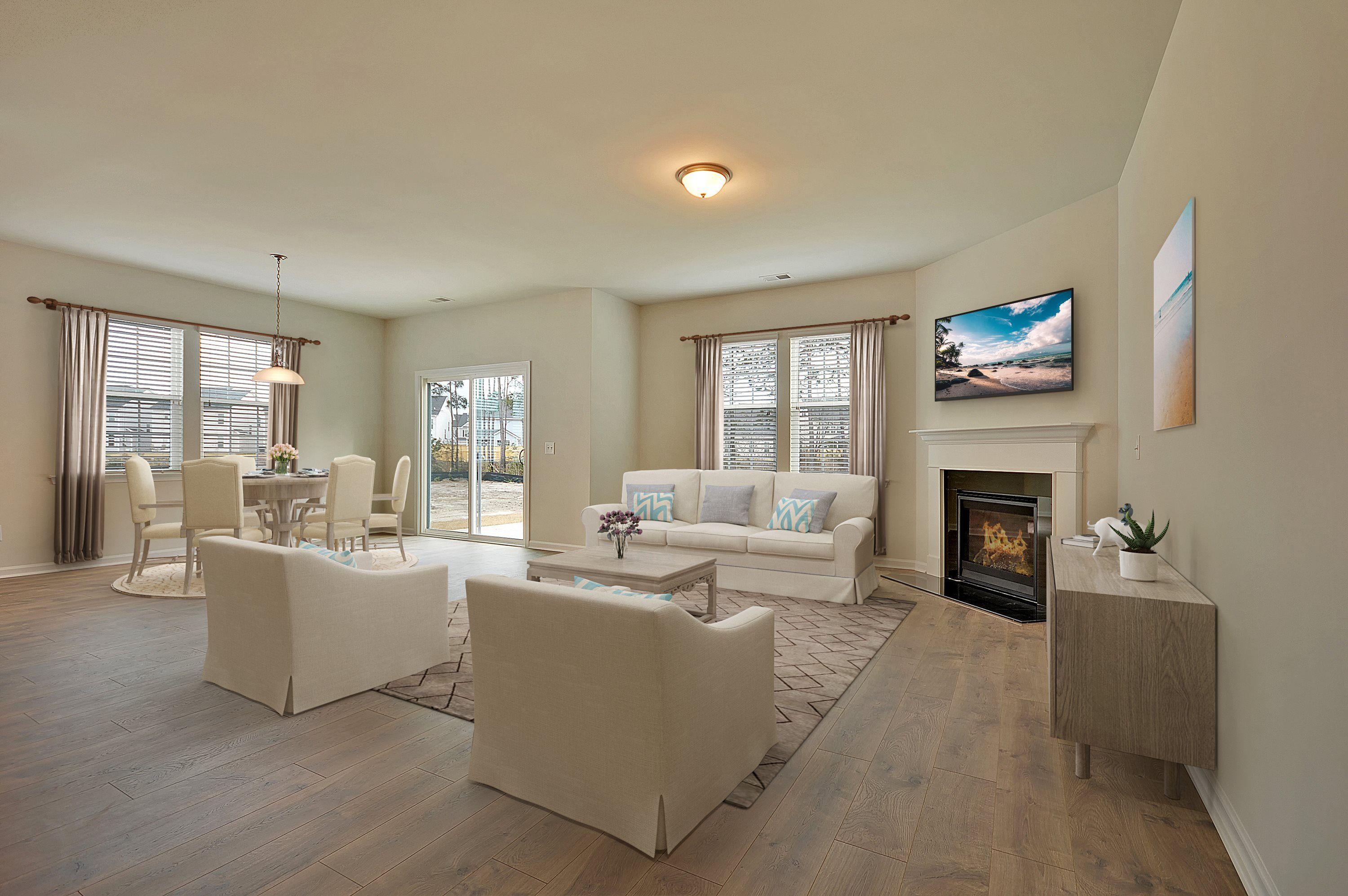 Living Area featured in the HENNINGER By Lennar in Charleston, SC