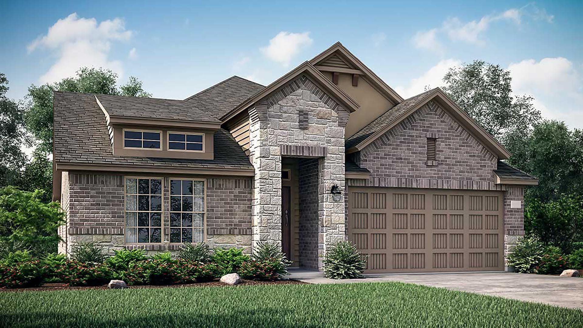 Exterior featured in the Brenham By Lennar in Houston, TX