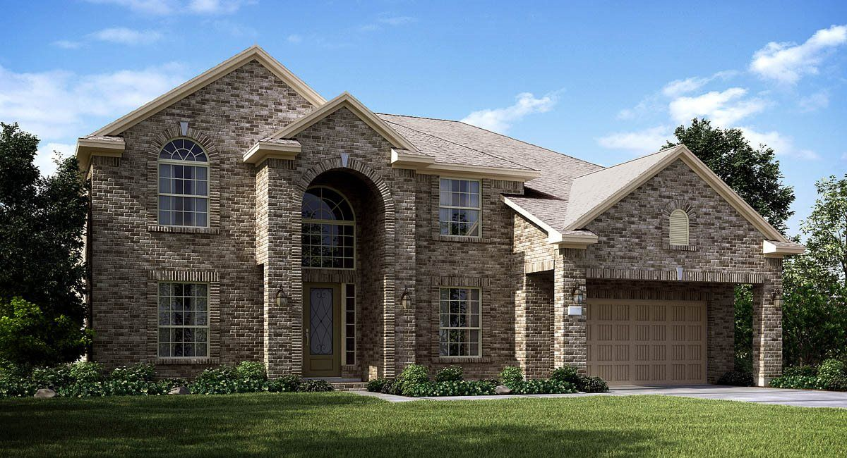 Exterior featured in the Sapphire By Lennar in Houston, TX