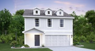 Ridley - Northeast Crossing - Cottage & Watermill Collections: San Antonio, Texas - Lennar