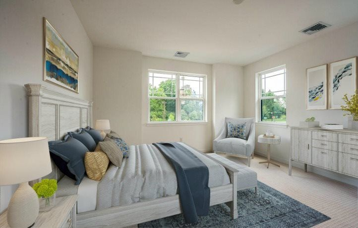 Bedroom featured in the Cypress By Lennar in Mercer County, NJ