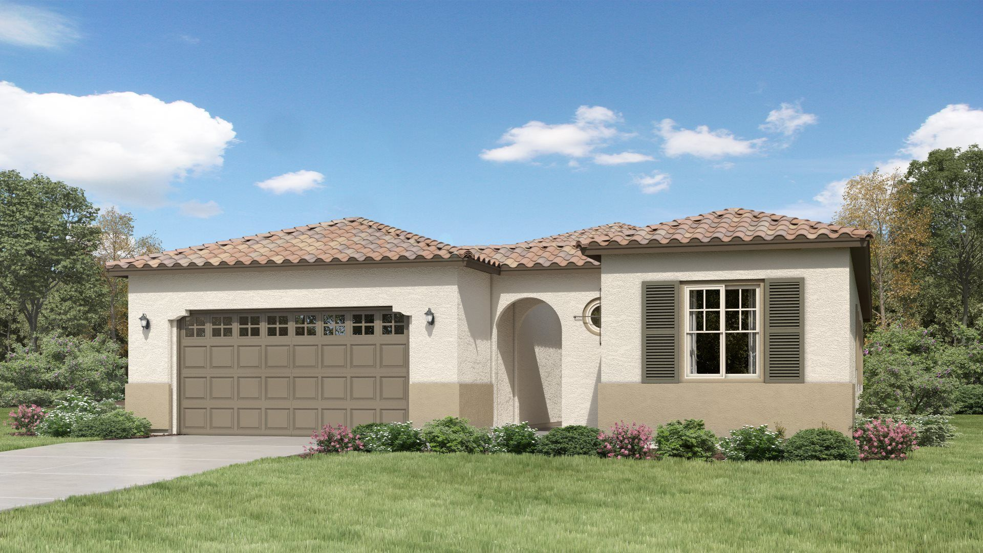 Exterior featured in the Aspen Plan 4578 By Lennar in Phoenix-Mesa, AZ