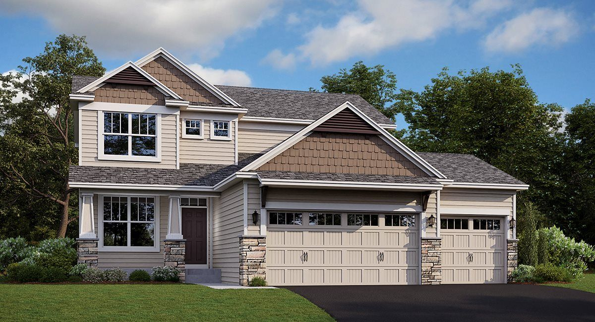 'Fieldstone Passage - Discovery Collection' by Lennar-Minnesota Homebuilding in Minneapolis-St. Paul