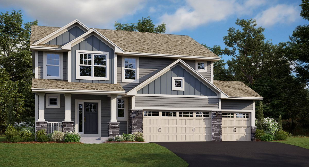 Exterior featured in the Alexander EI By Lennar in Minneapolis-St. Paul, MN