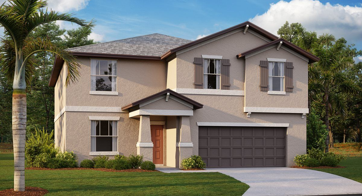 Exterior featured in the Richmond By Lennar in Tampa-St. Petersburg, FL