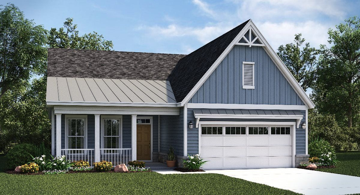 Exterior featured in the Huntley By Lennar in Washington, VA