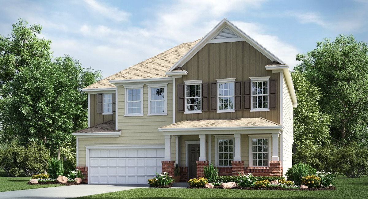 Exterior featured in the Hunter Basement By Lennar in Charlotte, SC