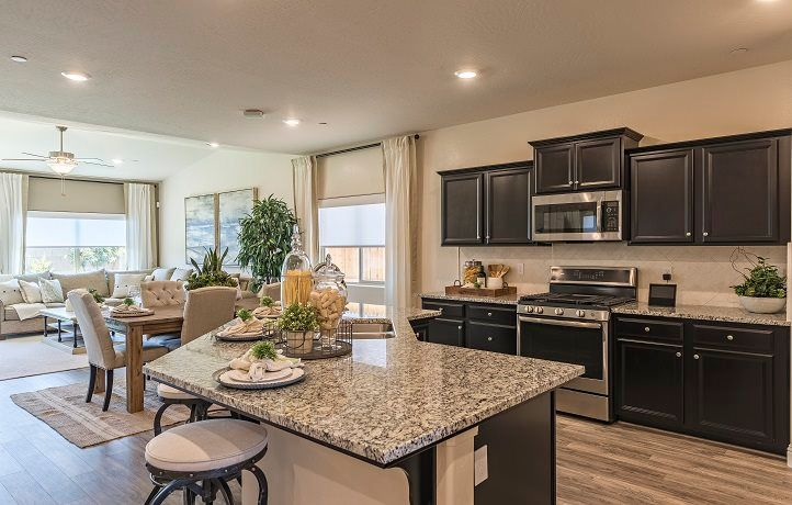 Kitchen featured in the Duke By Lennar in Merced, CA