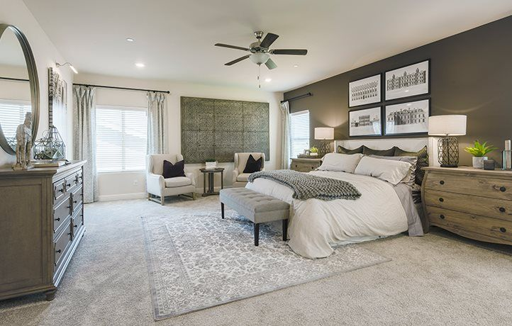 Bedroom featured in the Chevalier By Lennar in Merced, CA