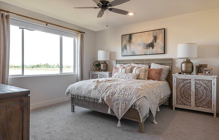 Bedroom featured in the Sandpiper By Lennar in Merced, CA