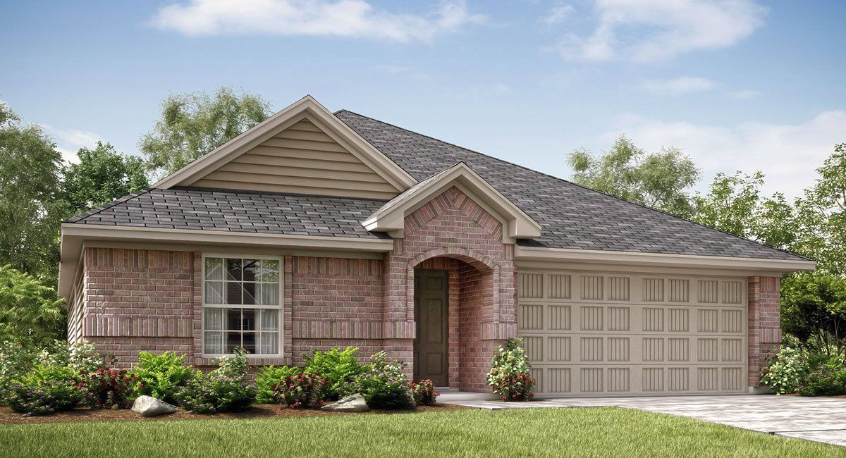 Exterior featured in the Serenade-STANDARD 3 CAR GARAGE By Lennar in Fort Worth, TX