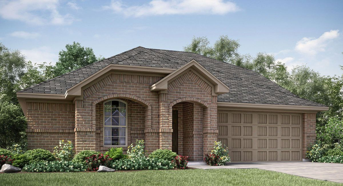 Exterior featured in the Harmony -STANDARD 3 CAR GARAGE By Lennar in Fort Worth, TX