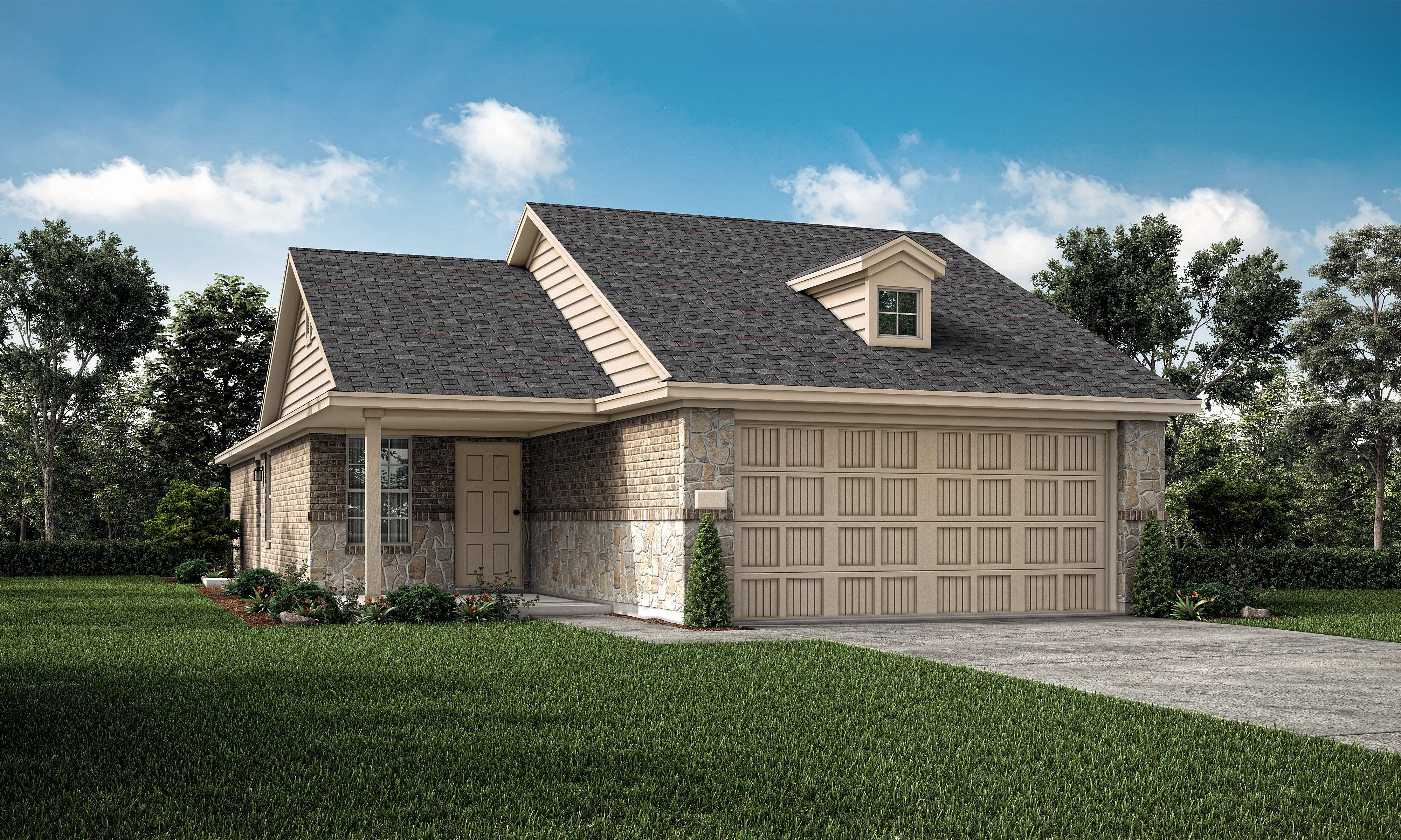 Exterior featured in the Windhaven By Lennar in Fort Worth, TX