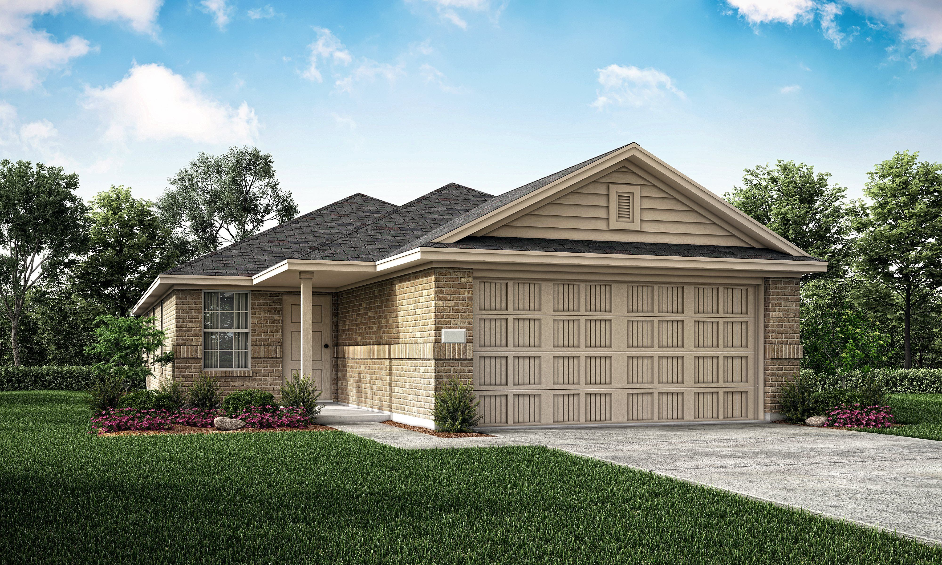Exterior featured in the Red Oak By Lennar in Fort Worth, TX