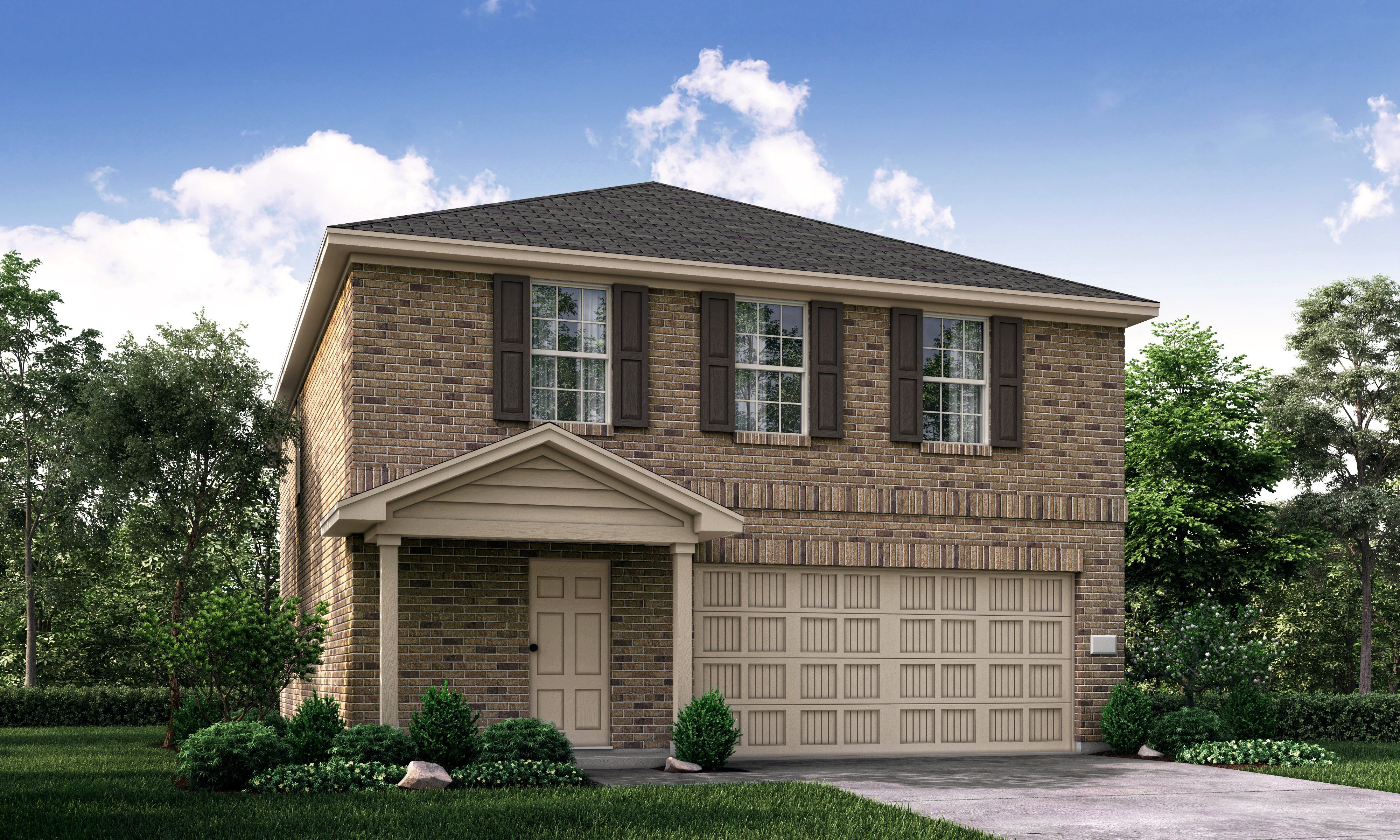 Exterior featured in the Pinecove By Lennar in Fort Worth, TX