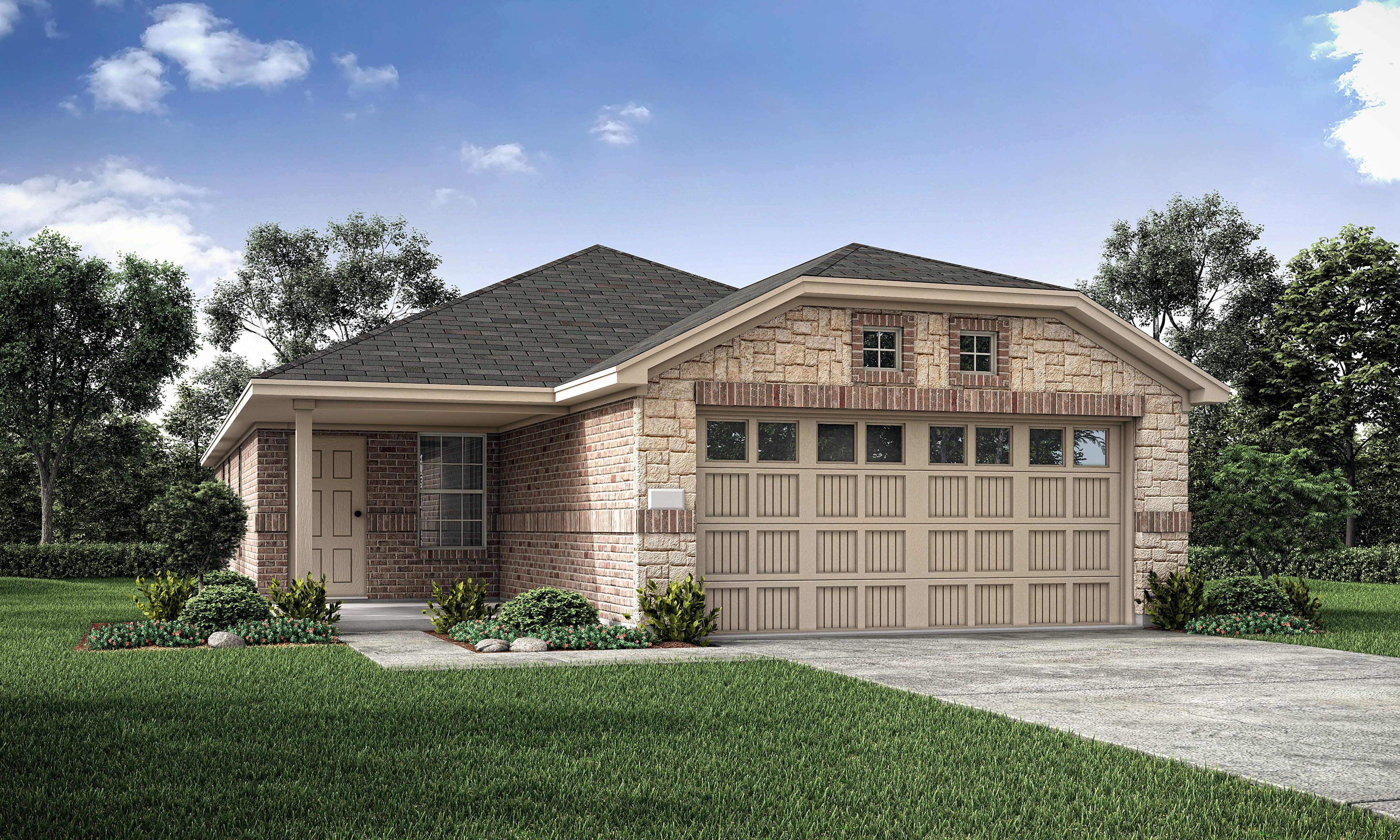 Exterior featured in the Chestnut By Lennar in Fort Worth, TX