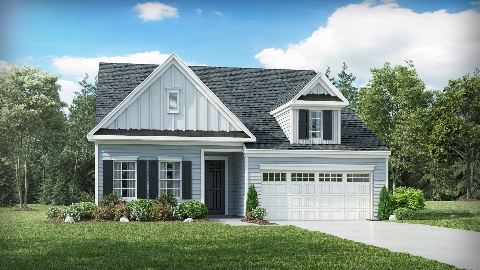 Exterior featured in the Dover II By Lennar in Raleigh-Durham-Chapel Hill, NC
