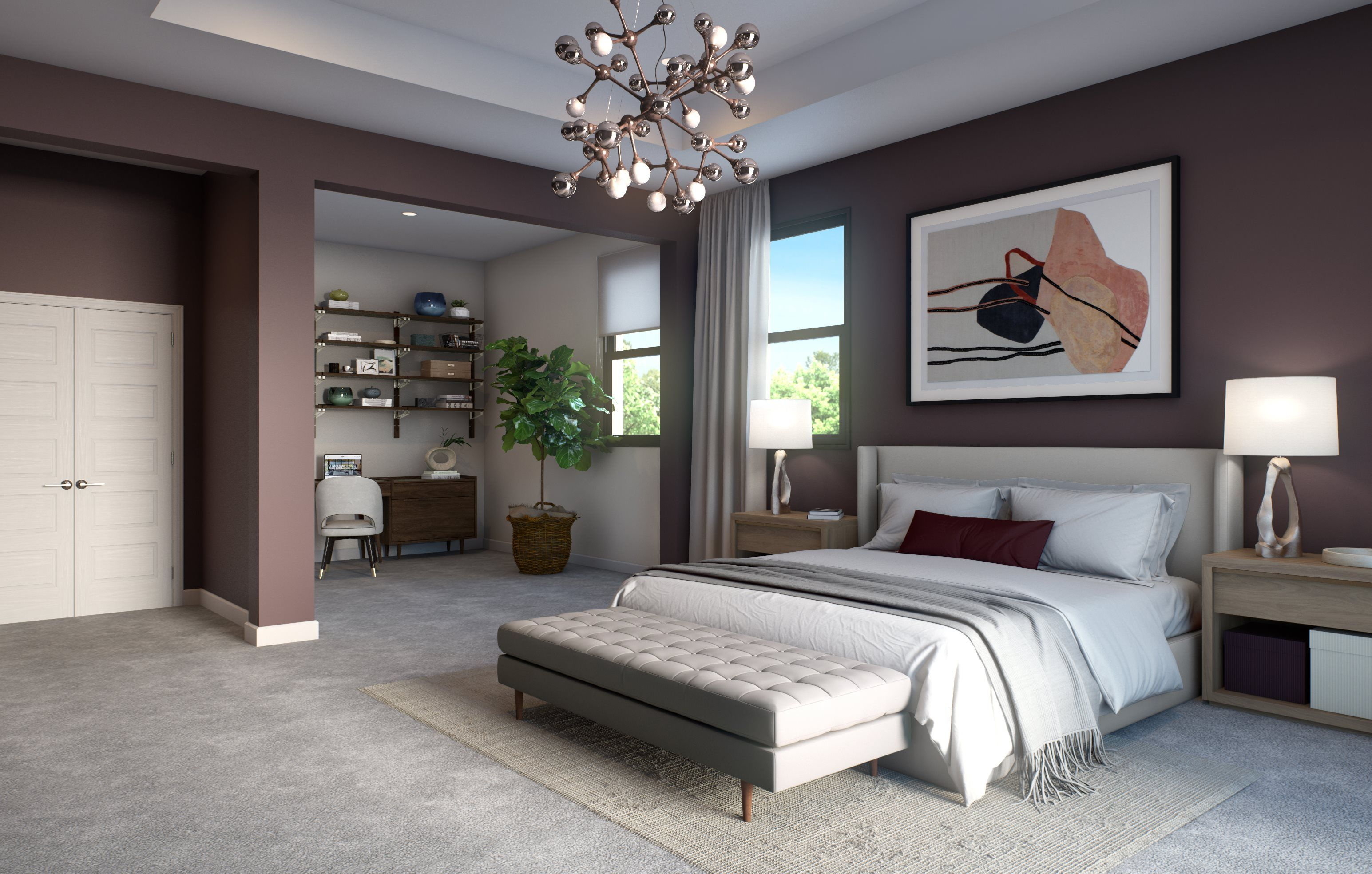 Bedroom featured in the Plaza By Lennar in Broward County-Ft. Lauderdale, FL