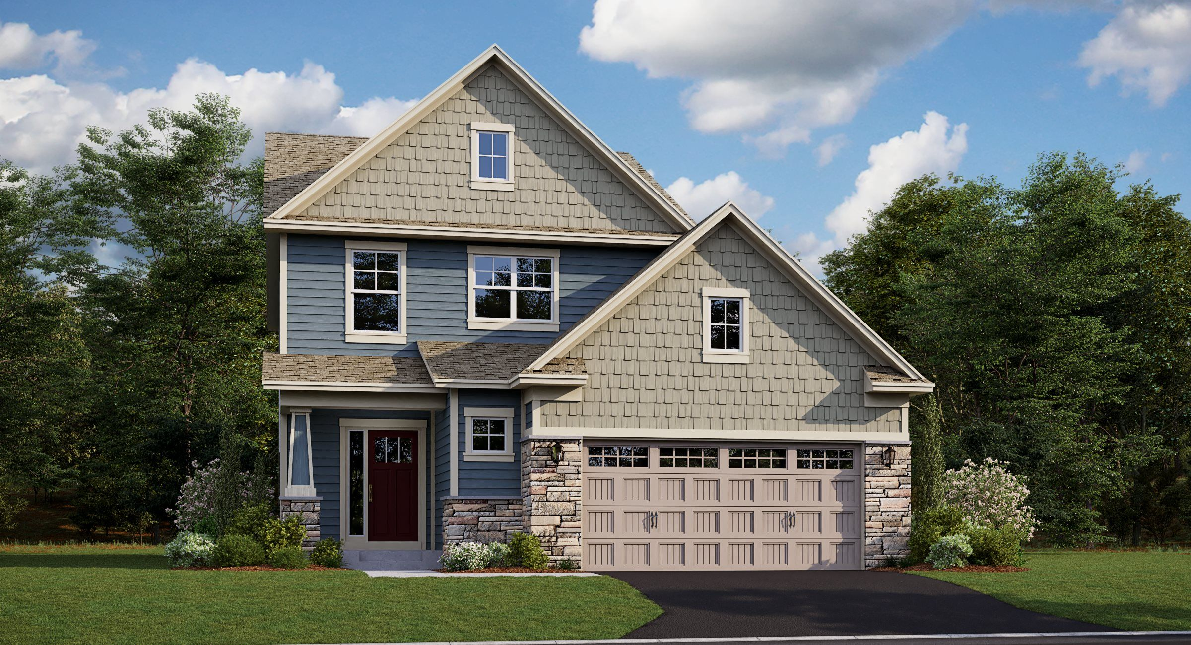 Exterior featured in the Acadia EI By Lennar in Minneapolis-St. Paul, MN