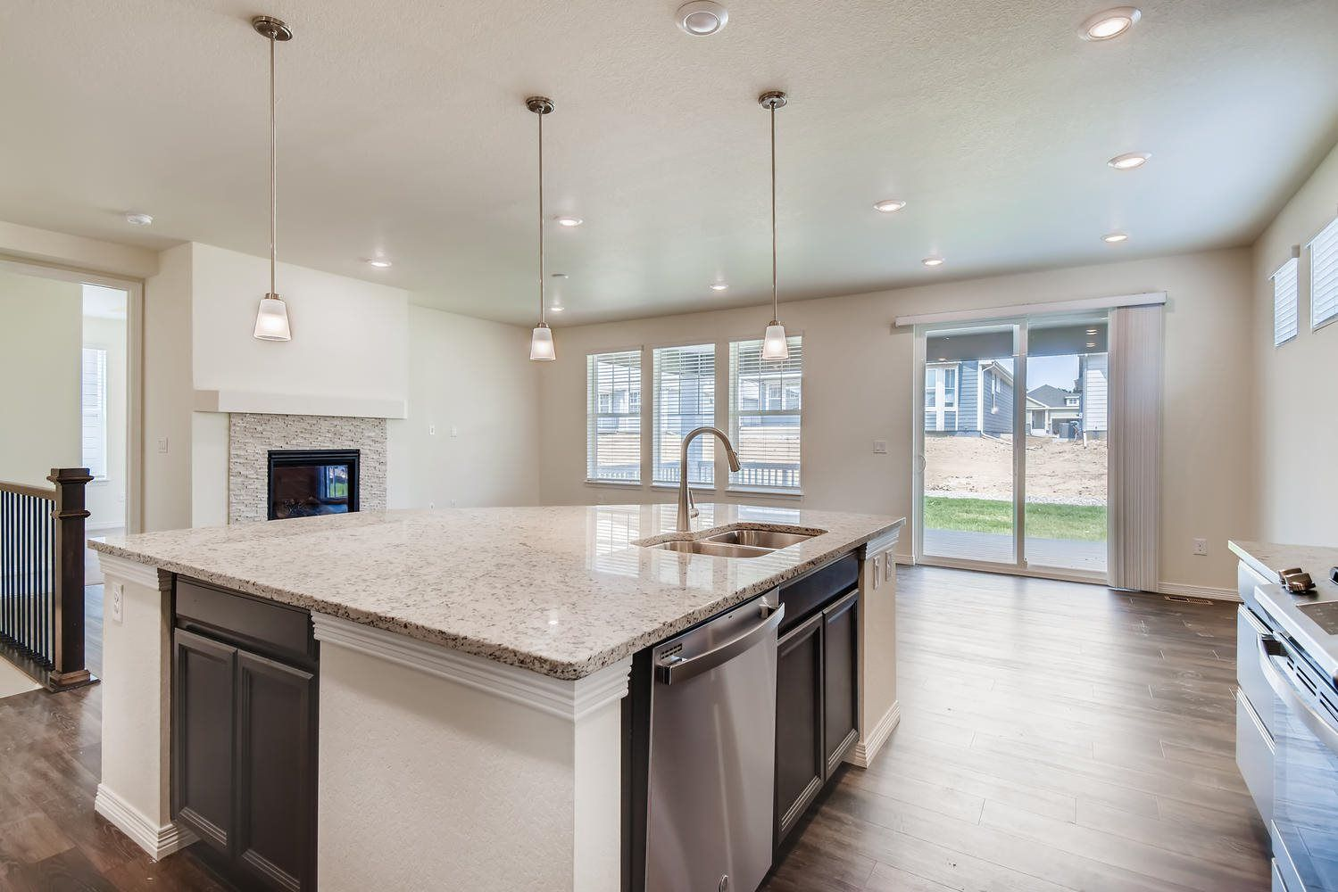 Kitchen featured in the Oxford By Lennar in Denver, CO