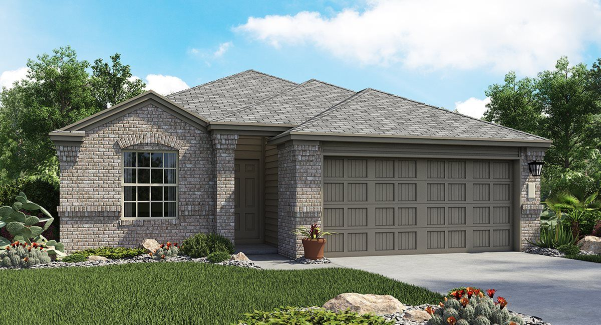 Exterior featured in the Abby By Lennar in San Antonio, TX