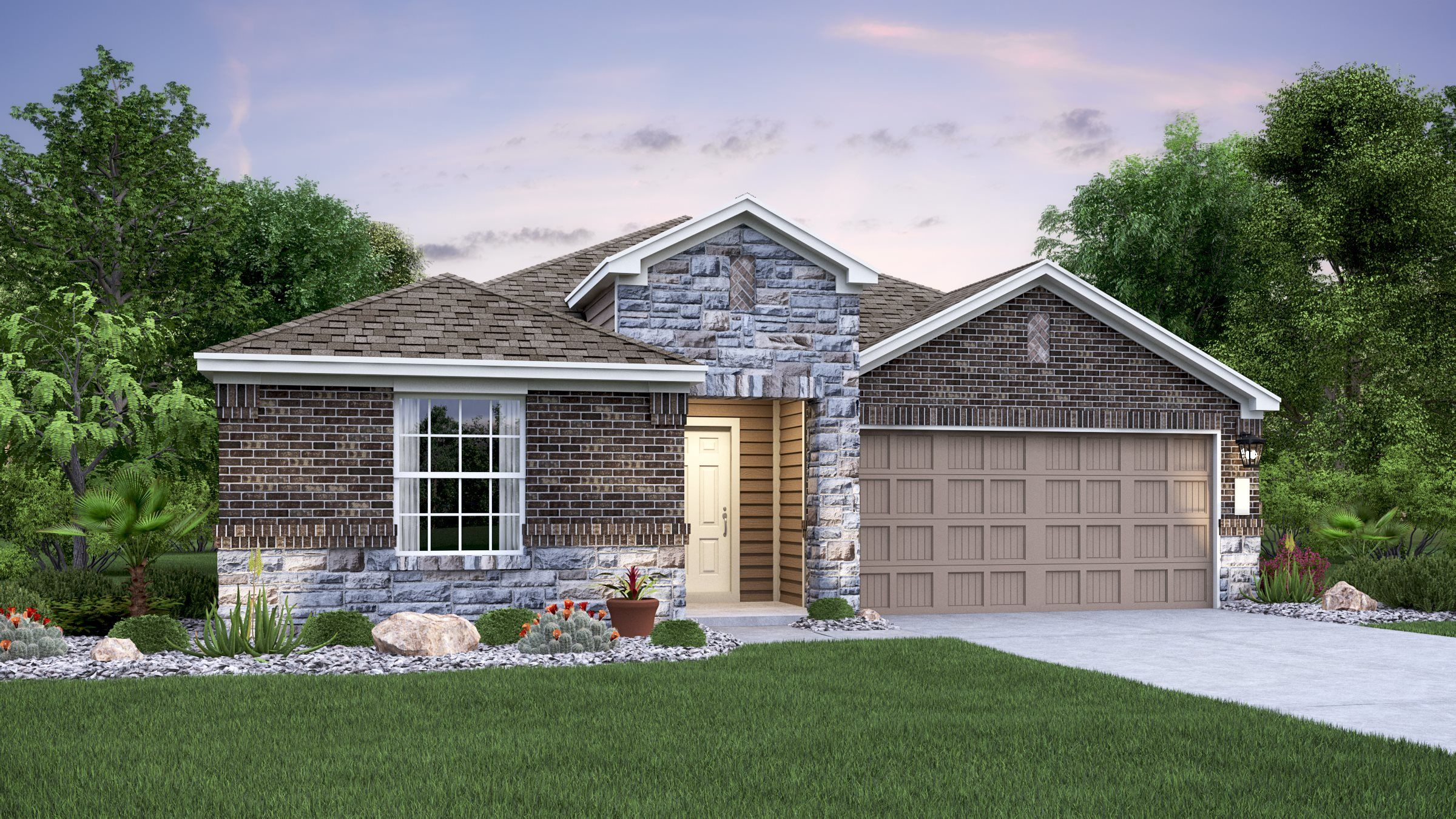 Exterior featured in the Jardin By Lennar in San Antonio, TX