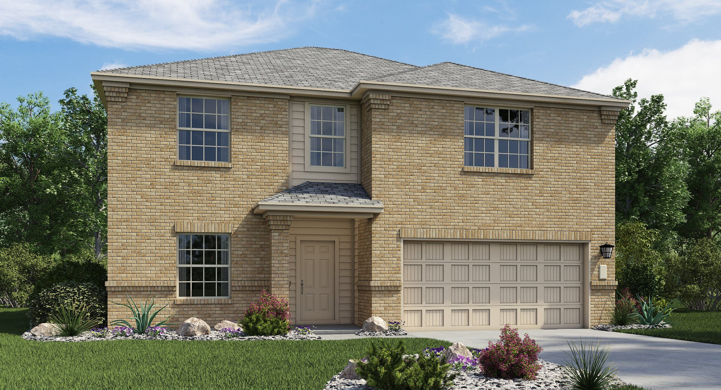Exterior featured in the Dubois By Lennar in San Antonio, TX