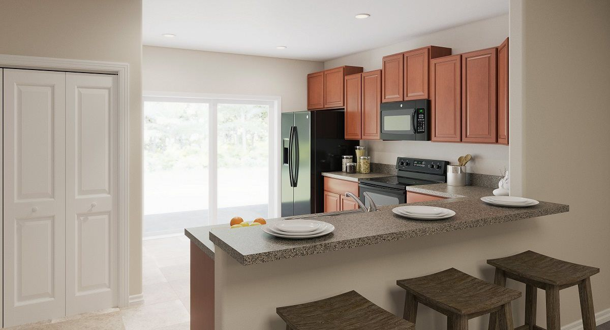 Kitchen featured in the Madison By Lennar in Tampa-St. Petersburg, FL