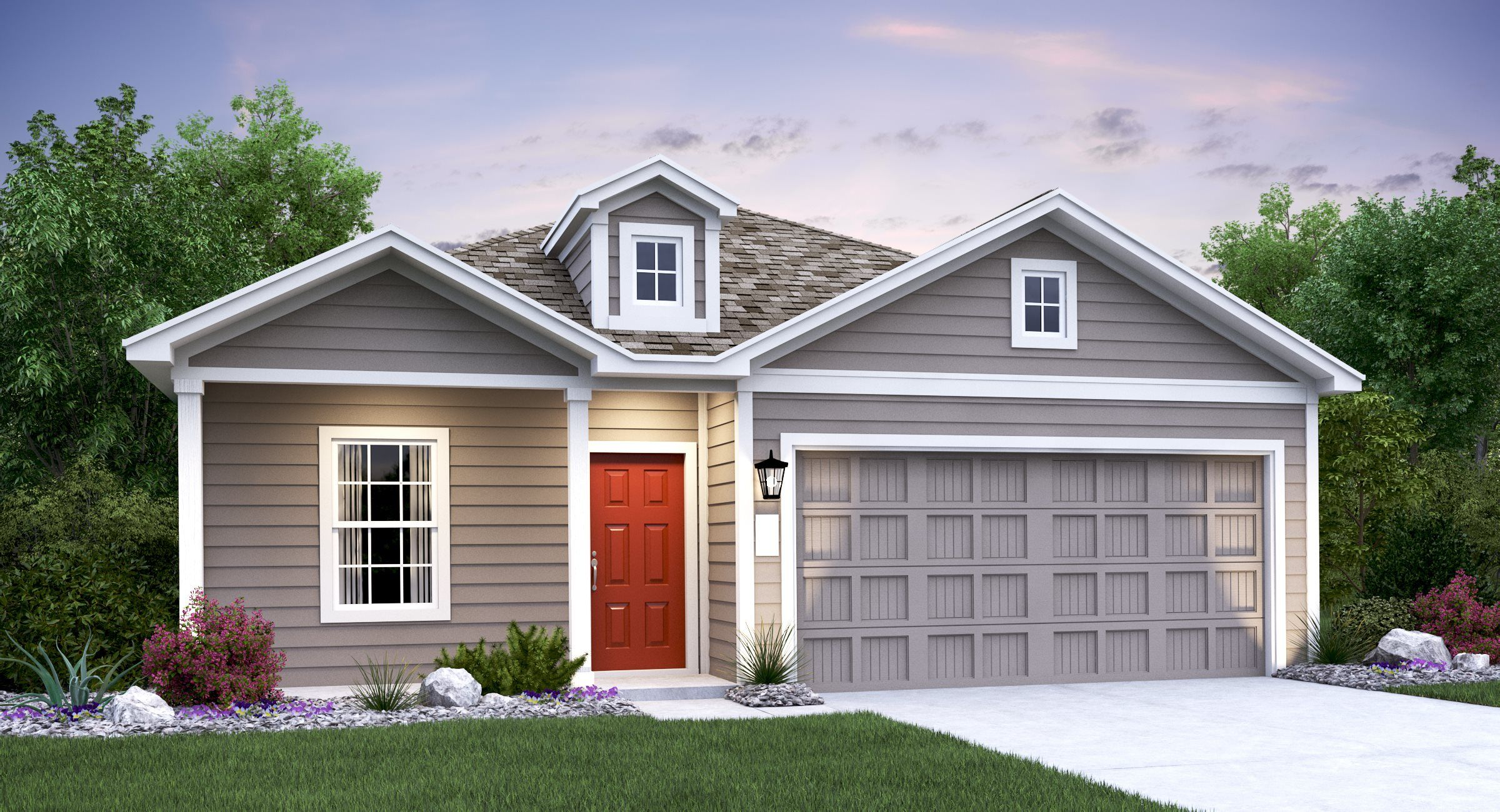 Exterior featured in the Nettleton By Lennar in Austin, TX
