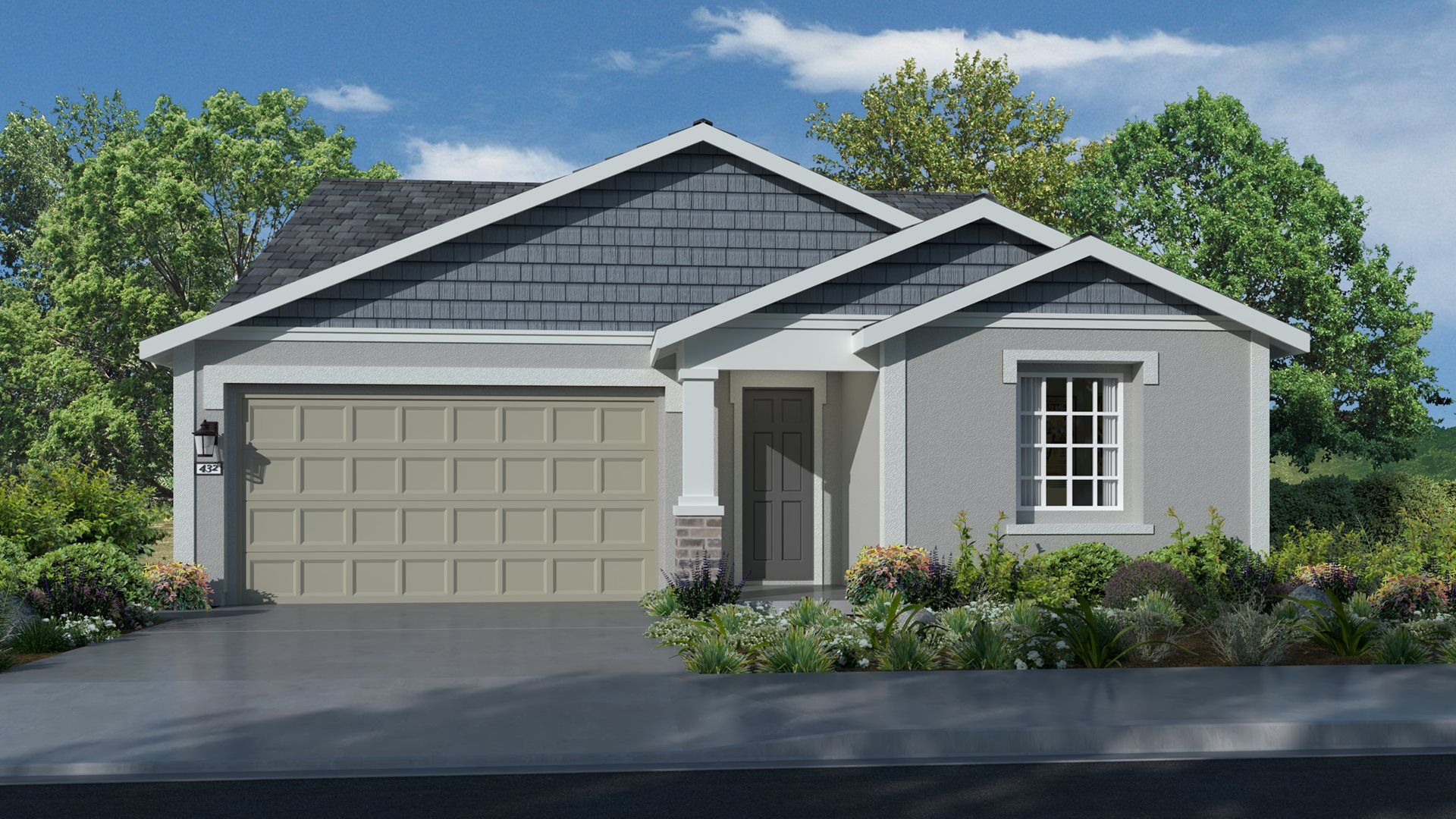 Exterior featured in the Residence 2119 By Lennar in Sacramento, CA