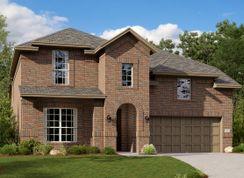 Azure w/ Media Standard - Riverplace Brookstone: Garland, Texas - Lennar