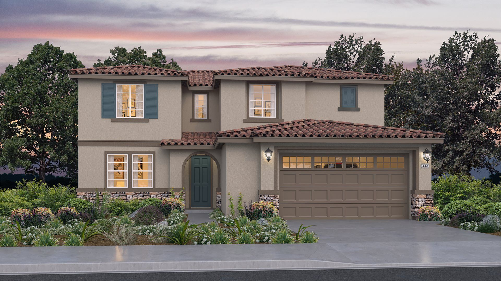 Exterior featured in the Residence 3175 By Lennar in Sacramento, CA