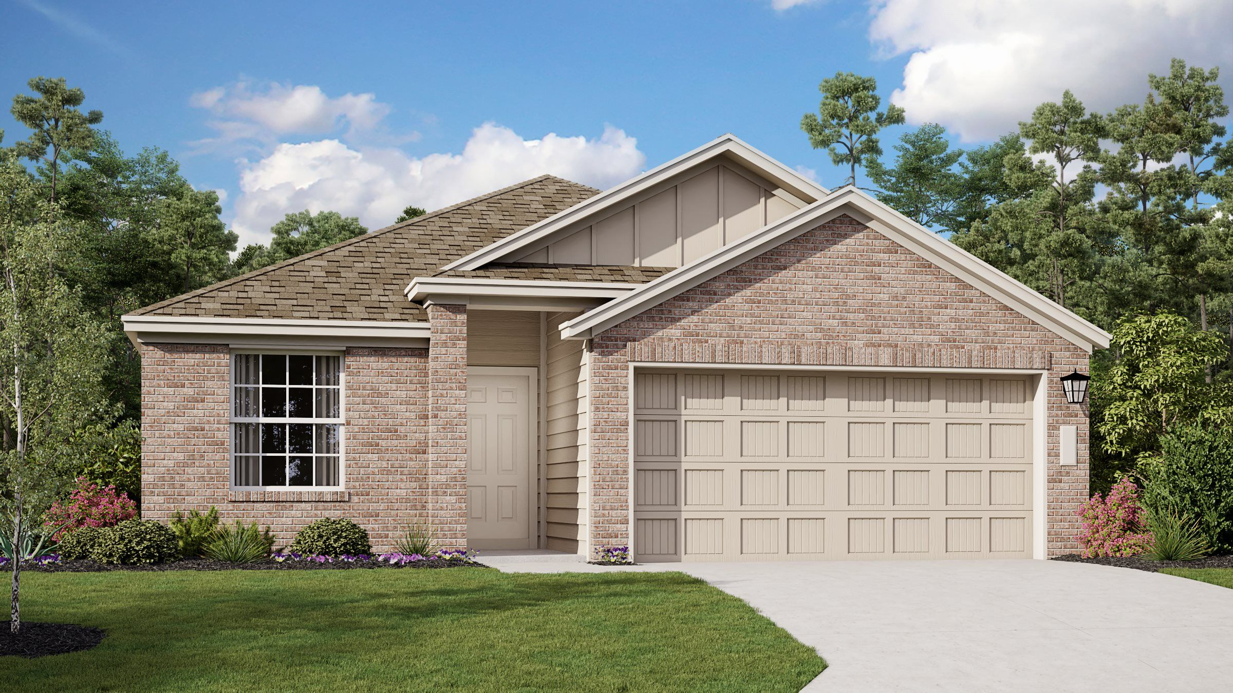 Exterior featured in the Thayer By Lennar in San Antonio, TX