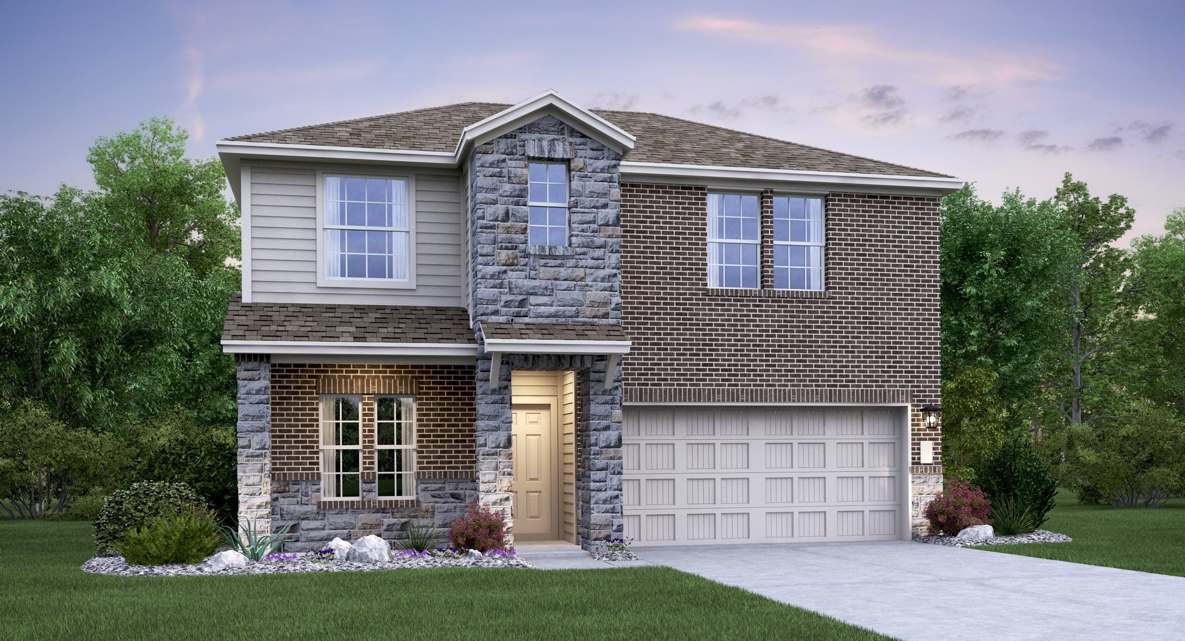 Exterior featured in the Bennett By Lennar in San Antonio, TX