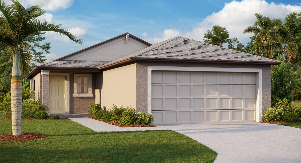 Exterior featured in the Albany By Lennar in Tampa-St. Petersburg, FL