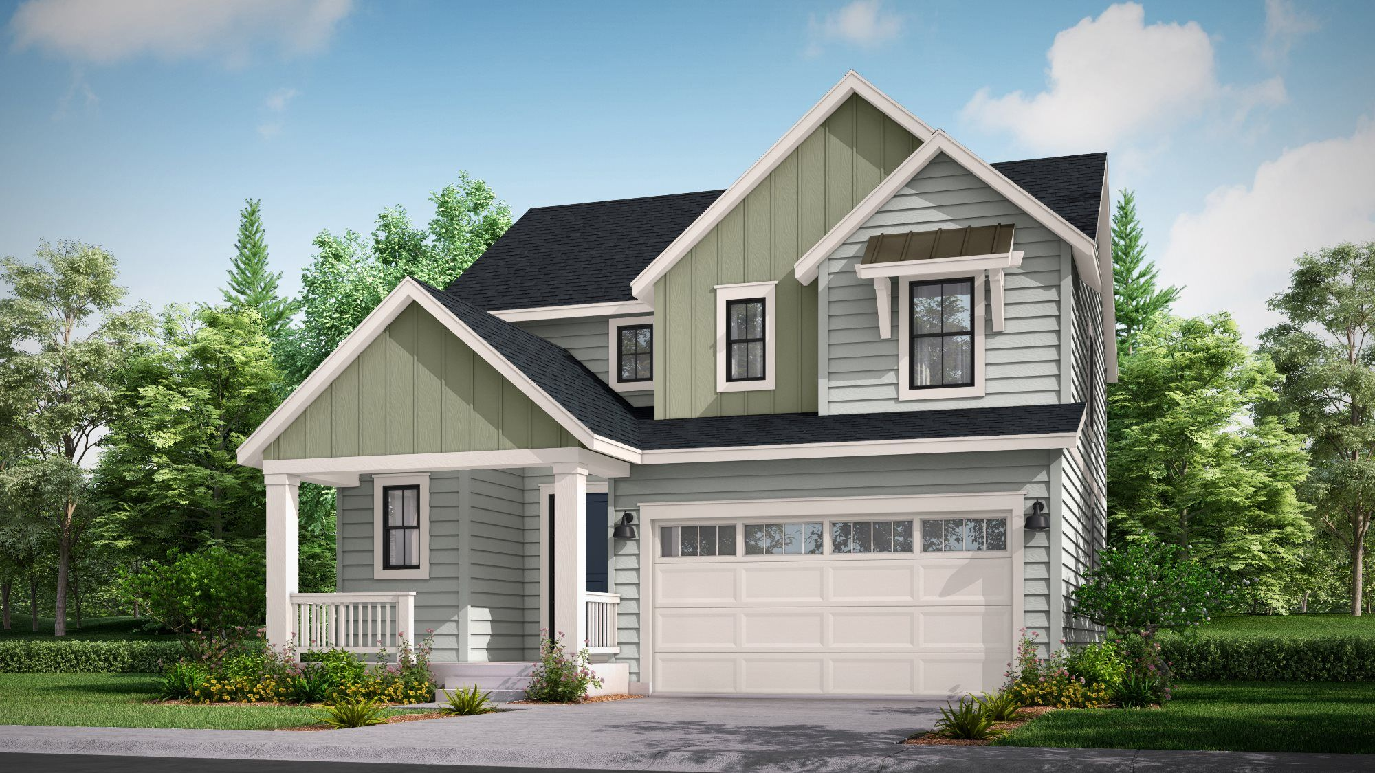 Exterior featured in the Tabor By Lennar in Denver, CO
