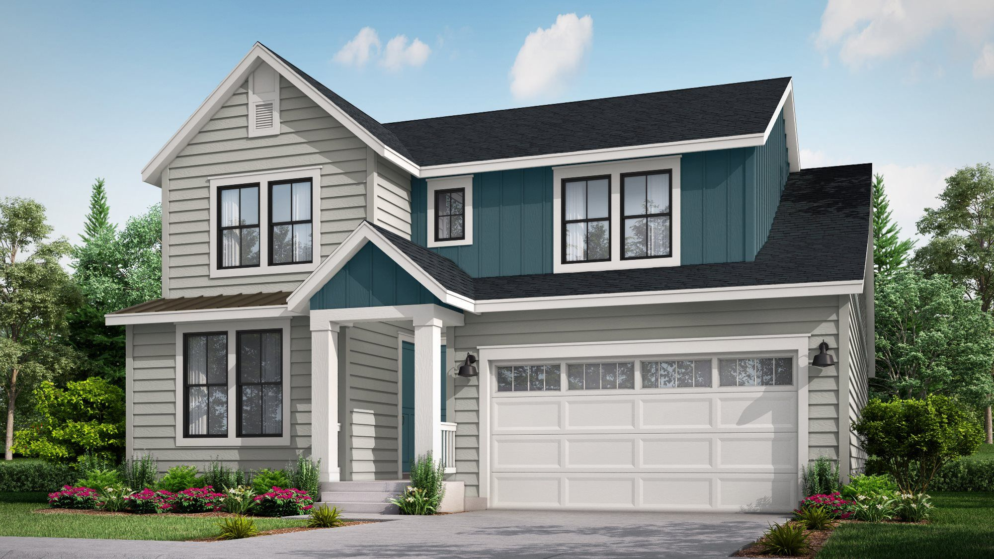 Exterior featured in the Brookside By Lennar in Denver, CO