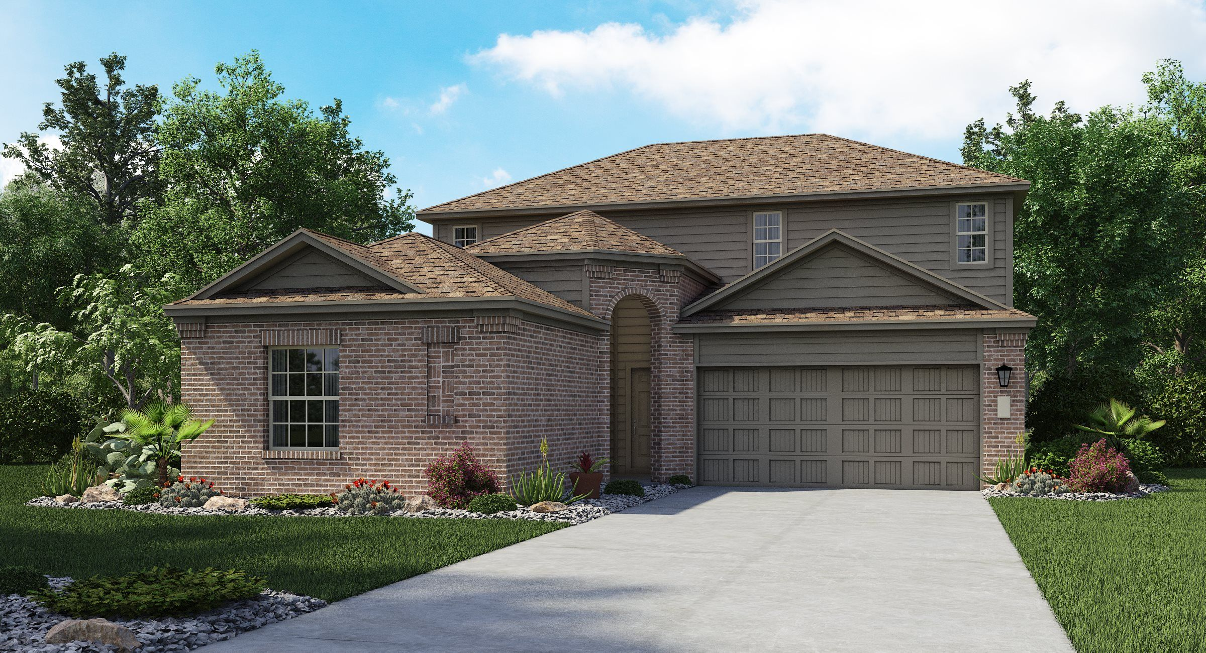 Exterior featured in the Halstead II By Lennar in San Antonio, TX