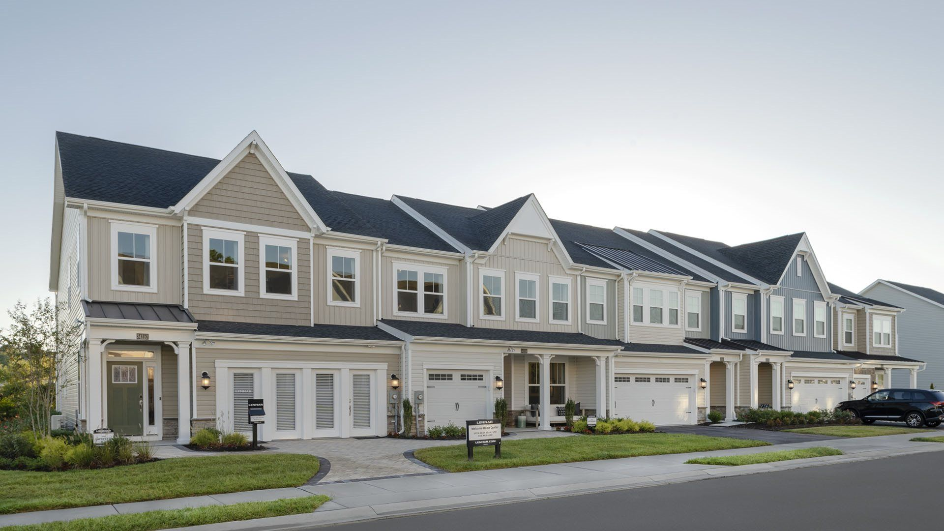 Exterior featured in the Jefferson By Lennar in Sussex, DE