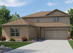 Halstead II - The Crossings - Brookstone II & Westfield Collections: New Braunfels, Texas - Lennar