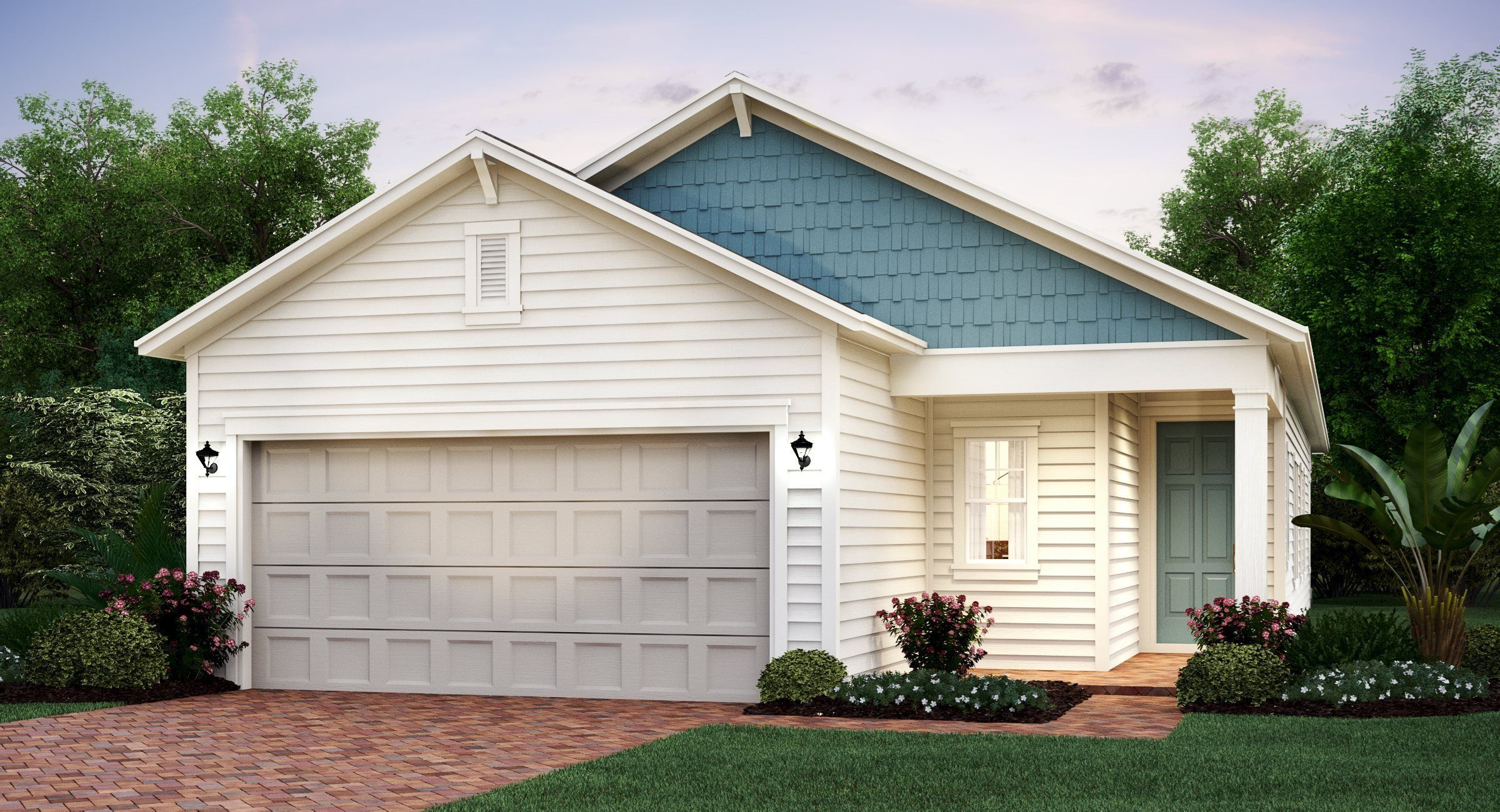 Exterior featured in the ALEXIA By Lennar in Jacksonville-St. Augustine, FL