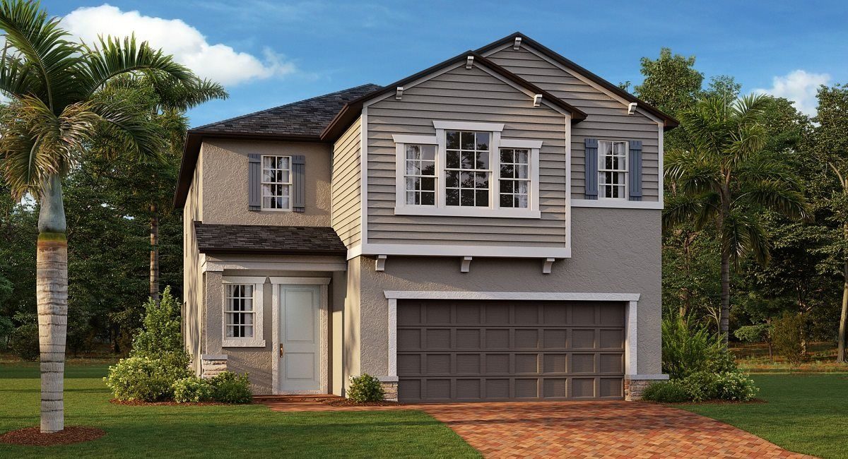 Exterior featured in the Maryland - Courtyard By Lennar in Tampa-St. Petersburg, FL