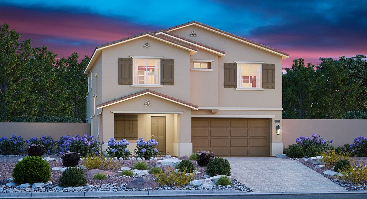 Exterior featured in the Elliot By Lennar in Las Vegas, NV