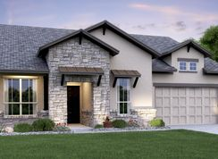 Eppright - Rancho Sienna - Havergate Collection: Georgetown, Texas - Lennar