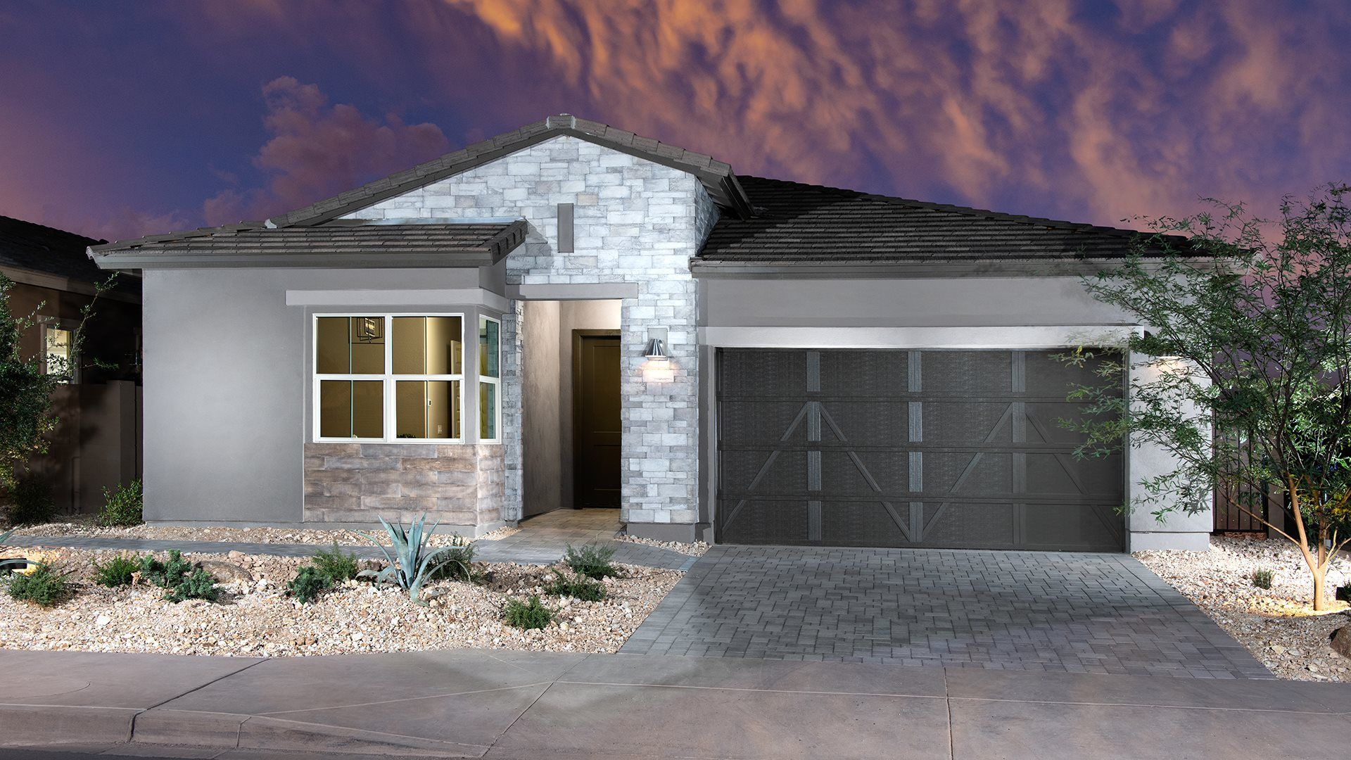 Exterior featured in the Canyon Plan 9080 By Lennar in Phoenix-Mesa, AZ
