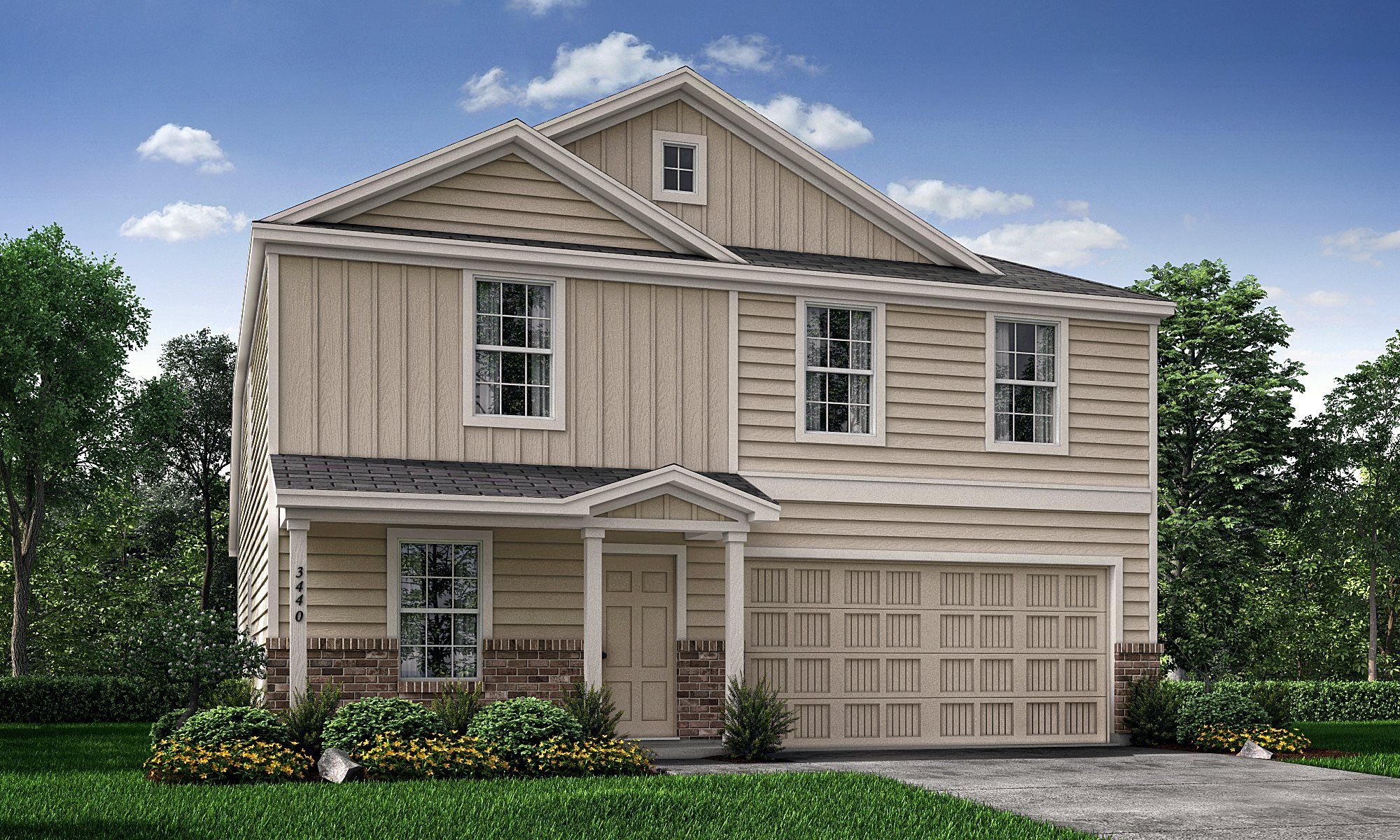 Exterior featured in the Willowford By Lennar in Dallas, TX