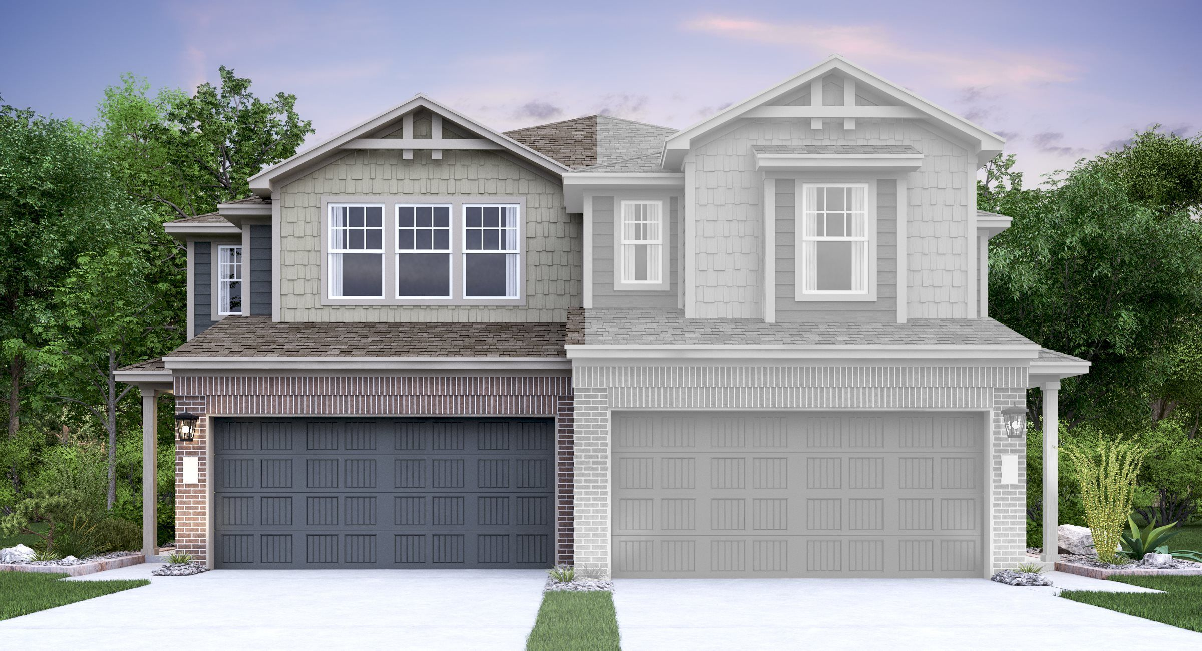 Exterior featured in the Downing By Lennar in Austin, TX
